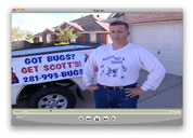 Scotts Pest Control video clip